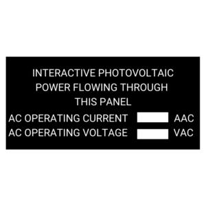 Intercative Photovoltaic Power Through This Panel